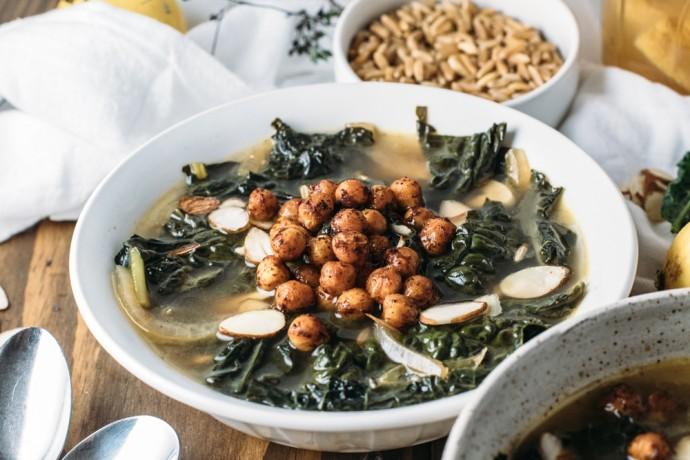 garlic kale soup 2
