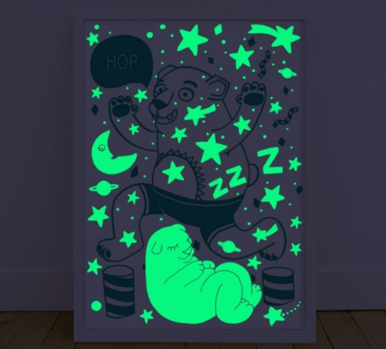 Glow In The Dark Poster Previous Next